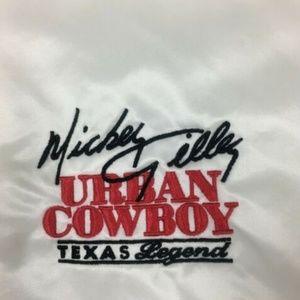 Vintage Jackets & Coats - Vintage Westark Mickey Gilley Urban Cowboy Satin